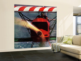 """1918 Fokker D-7,"" May 18, 1963 Wall Mural – Large by John Zimmerman"