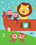 Arca de Noé I Láminas por Nathalie Choux