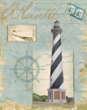 Seacoast Lighthouse I Poster by Paul Brent