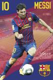 FC Barcelona, Lionel Messi Poster