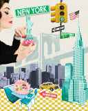 New York Art by Emillie Capman