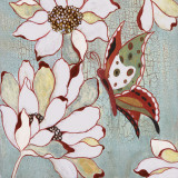 Vintage Butterfly I Prints by Lee Speedwell