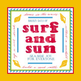 Beach Surf Posters by Sharyn Sowell