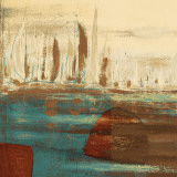 Calm Waters Square I Prints by  Kingsley