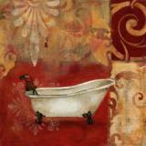 Scarlet Bath II Poster by Carol Robinson