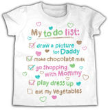 Toddler: My To Do List Shirts