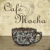 Café Mocha Poster by Todd Williams