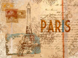 Paris Postcard Posters