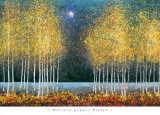 Luna azul Arte por Melissa Graves-Brown