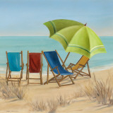 Four Summer II Posters by Carol Robinson