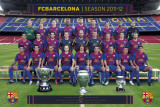 Barcelona-Team Photo-2011-2012 Print