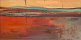 Red Horizon II Poster von Patricia Quintero-Pinto