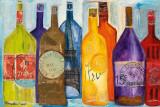 Viva la Bourgogne Poster von Alexa Tava