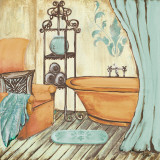Chateau Bath I Prints by Gina Ritter