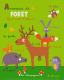 Forest Animals Prints by Isabelle Jacque