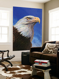 """Closeup of Bald Eagle,"" June 13, 1942 Wall Mural by W.W. Calvert"