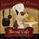 Biscuit Café Prints by Conrad Knutsen