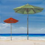 Coastal Scene II Print by Tiffany Hakimipour