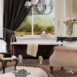 Chandelier Bath II Poster by Elizabeth Medley