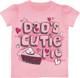 Toddler: Dad's Cutie Pie T-shirts