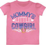 Toddler: Mommy's Little Cowgirl T-shirts