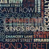 Rues de Londres Poster