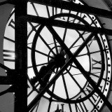 Paris Clock II Prints by Alison Jerry