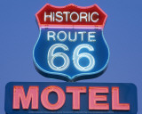 Route 66, Motel Art