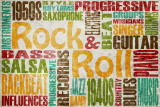 Rock & Roll Posters