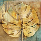 Gold Leaves I Prints by Patricia Quintero-Pinto