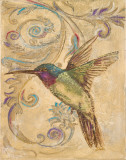 Hummingbird II Print by Patricia Pinto