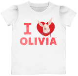 Toddler: Olivia - I Heart Olivia T-Shirt