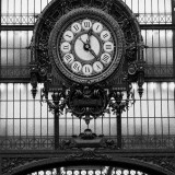 Paris Clock I Art by Alison Jerry