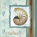 At the Beach Posters by Carol Robinson
