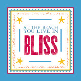 Beach Bliss Print by Sharyn Sowell