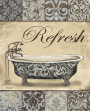 Refresh Bath Poster af Todd Williams