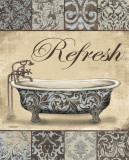 Refresh Bath Plakat autor Todd Williams