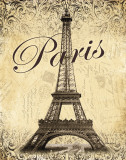 Paris Affiches par Todd Williams