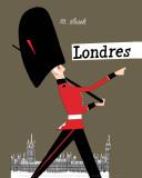 London Kunst von Miroslav Sasek