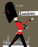 London Posters by Miroslav Sasek