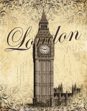 London Posters af Todd Williams