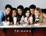 Friends - Milk Shakes Masterprint