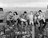 Friends - Over New York Masterprint