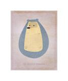 The Hirsute Hedgehog Giclee Print by John Golden