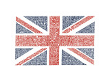 Union Jack Gicl&#233;e-Druck