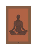 The Yoga Sutras of Patanjali I Giclee Print