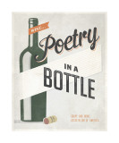 Poetry in a Bottle Giclee Print by Luke Stockdale