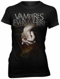 Juniors: Vampires Everywhere - Girls Hands T-Shirts