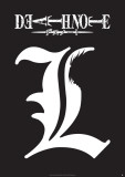 Death Note - L Symbol-One Sheet Plakater
