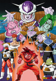 Dragon Ball-Son Goku sur Namec-One Sheet Print